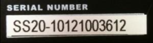 シリアルナンバー
