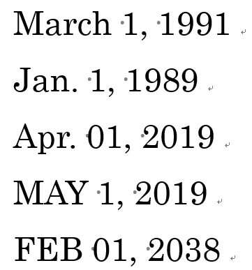暦 一覧 和 西暦